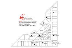 moderne burokonzepte grundriss, arbeitsplätze und büros - ecos office center wiesbaden, Design ideen